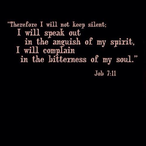 #247Gvibes : #VerseOfTheDay JOB 7 : 11