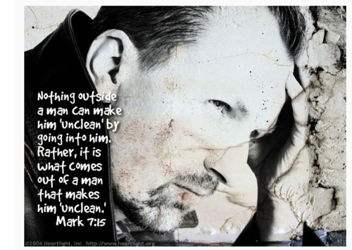 #247GvibeS : Verse of the day – Mark 7 : 15
