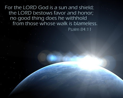 Verse of the Day : Psalm 84:11 – 31st Jan, 2017