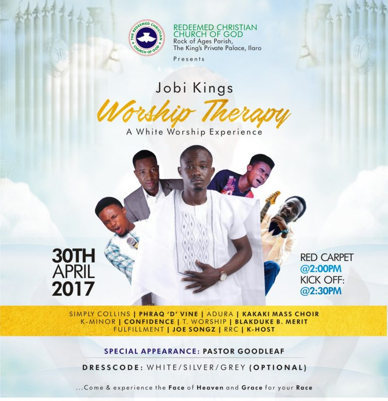 Event : The Redeemed Christian Church of God (Rock Of Ages) Presents White Worship Concert 2017 #WorshipTherapy