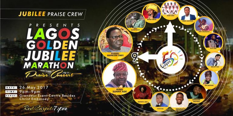 Event: Lagos Jubilee Marathon Praise Concert (@jublieepraizcrw) || @amenradio1