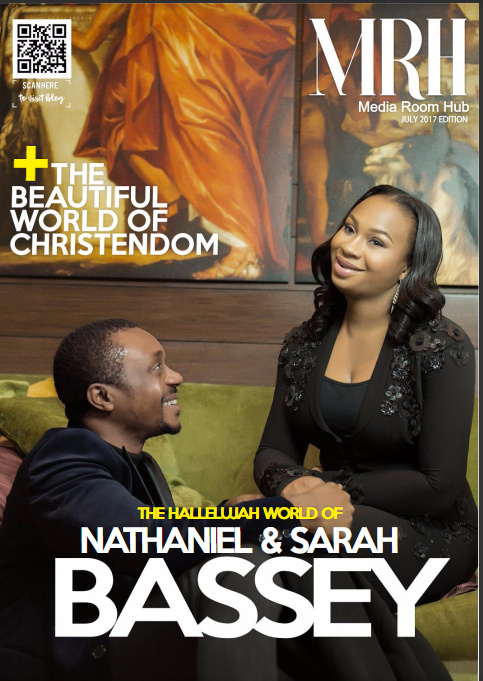 NATHANIEL BASSEY AND WIFE SARAH BASSEY ON MRH MAGAZINE COVER