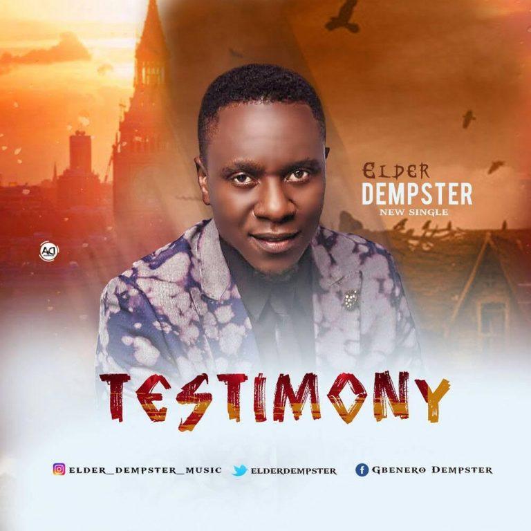 """ELDER DEMPSTER RELEASES NEW SONG """"TESTIMONY"""" @elderdempster"""