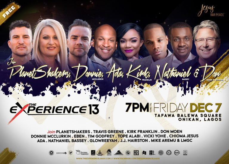 """Events : """"Experience 2018"""" Ministers Unveiled For #TheExperience13 Concert in Lagos"""