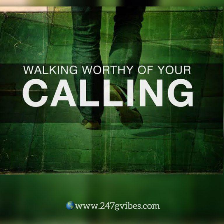 Walking Worthy Of Your Calling – Pastor Faith Oluwagbesan