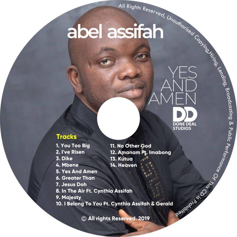 New Gospel Album: Yes And Amen Album – Abel Asssifah |@Abel Assifah