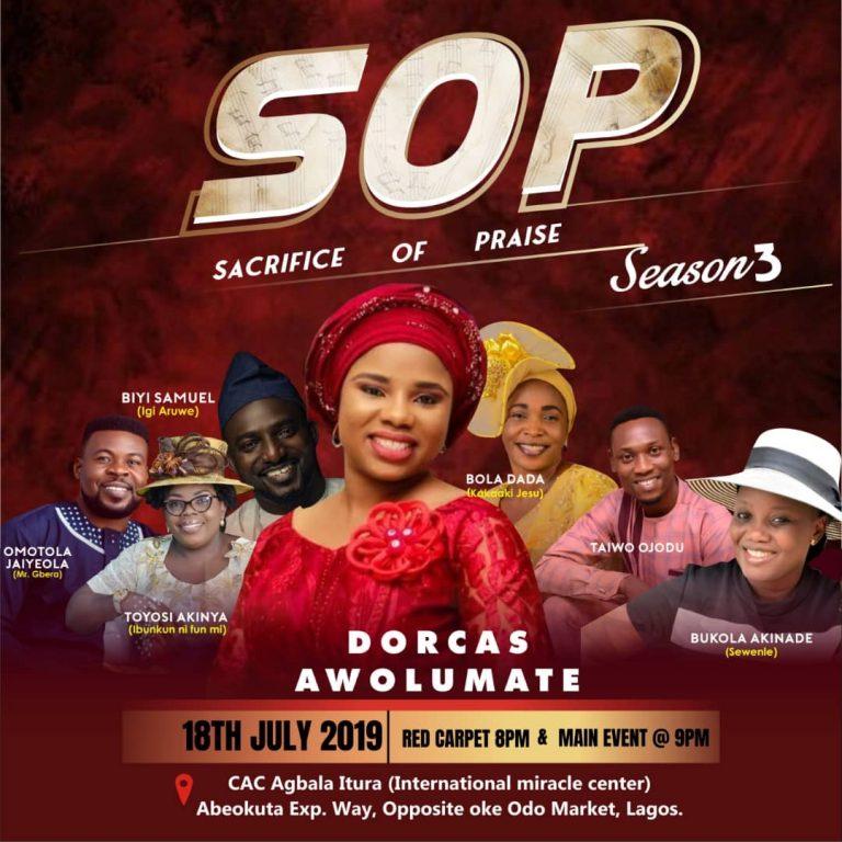 Event: Dorcas Awolumate Unveils Lineup For #SOP3 Including Biyi Samuel, Bukola Akinade Sewenle, Others! @dorcasawolumat1