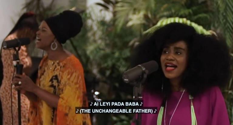 TY Bello's Spontaneous Worship with Sola Allyson – 'Aileyi Pada