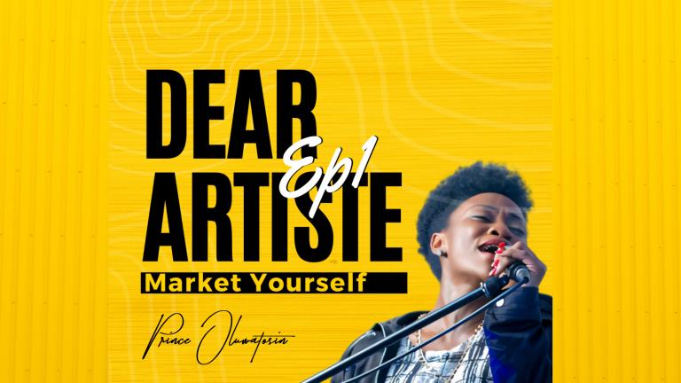 Dear Upcoming Artiste, Market Yourself