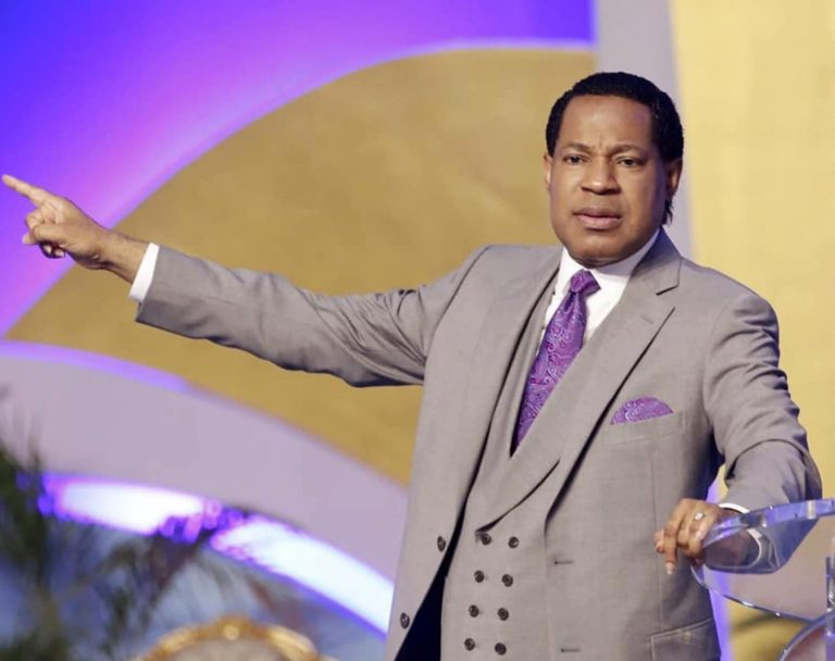 Pastor Chris Passes Comment On Church Re-opening