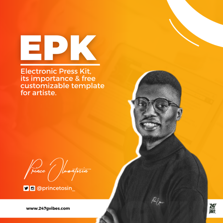 Media Kit And Its Importance To Artiste + (Free Downloadable Template) – Prince Oluwatosin
