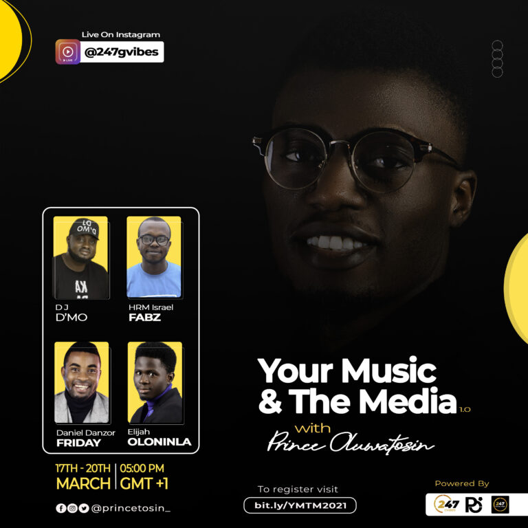 Event: Your Music And The Media With Prince Oluwatosin