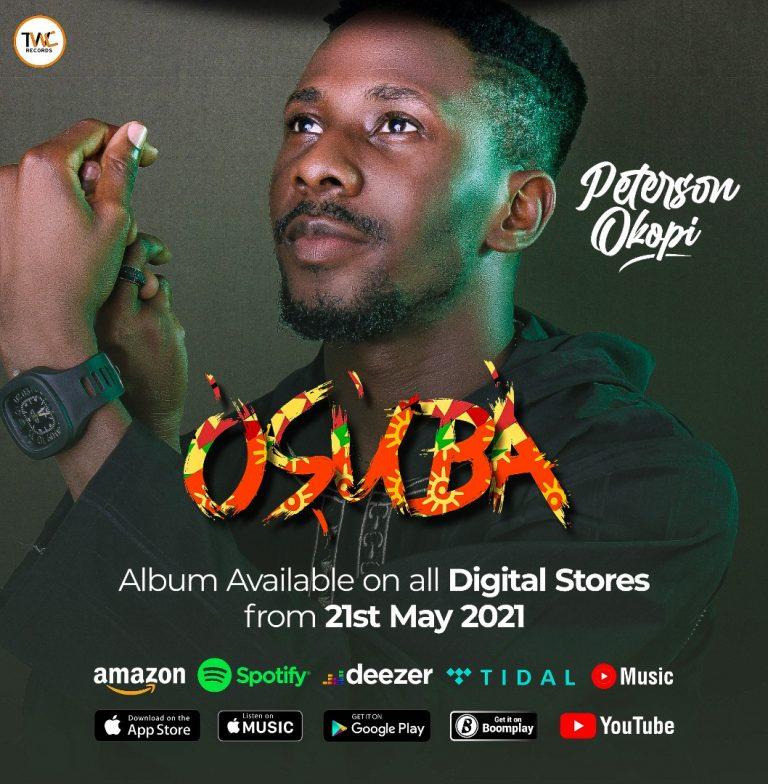 "Peterson Okopi Set To Release ""OSUBA"" His Debut Album"